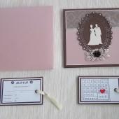 Modernus vestuvinis kvietimas – Elegancija