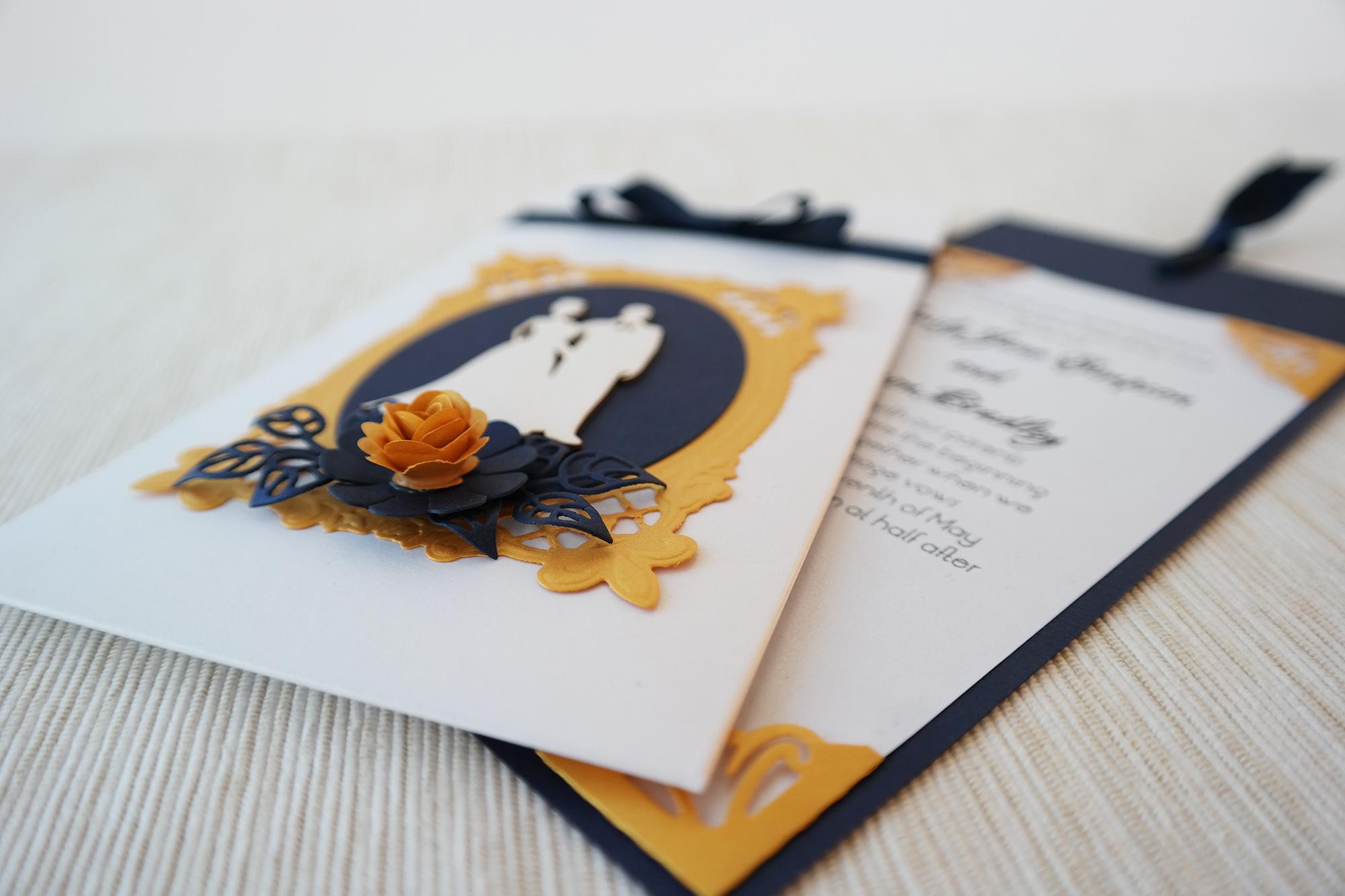vestuvinis kvietimas, kvietimas vokelyje, istraukiamas kvietimas, pocket fold invitation, wedding invitation, royal wedding invitation